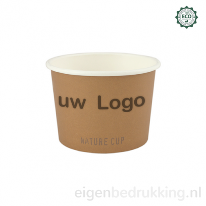Natureware (ijs-soep) kom, 240ml/ 8oz