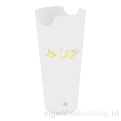 Frietbakje wit, 660ml