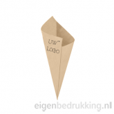 Bruine frietzak klein, 100gr