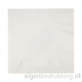 Servet wit groot, 40 x 40 cm