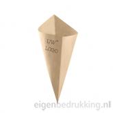 Bruine frietzak klein, 250gr