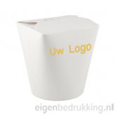 Noodlebox rond wit, 780ml